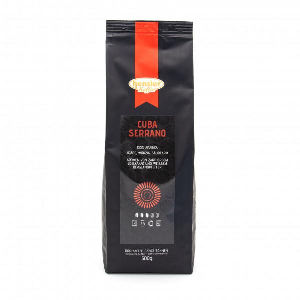 Cuba Serrano, 100% Arabica Kaffeebohnen