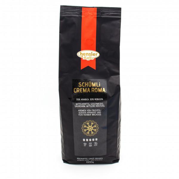 Schümli Crema Roma / Kaffeebohnen / Kaffee für Vollautomaten und Siebträger