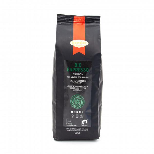 Bio-Espresso Mischung Fairtrade