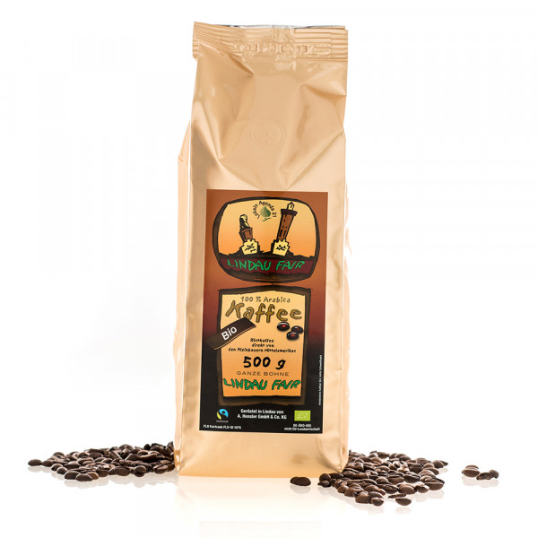 Lindau Fairtrade Bio Kaffee